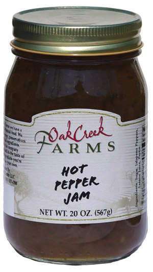 20 oz. Hot Pepper Jam