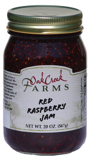 20 oz. Red Raspberry Jam