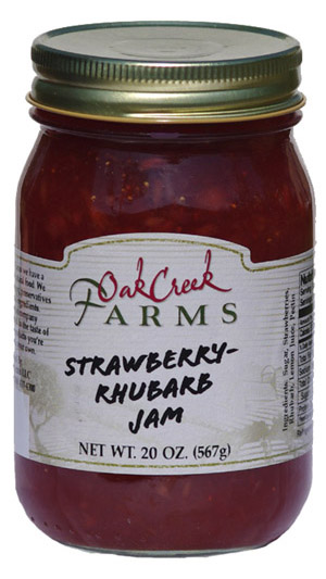 20 oz. Strawberry-Rhubarb Jam