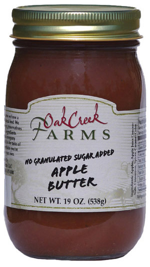 19 oz. Naturally Sweetened Apple Butter