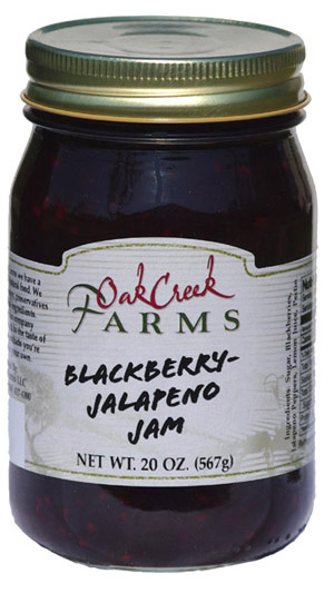 20 oz. Blackberry-Jalapeno Jam