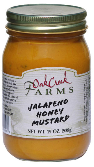 19 oz. Jalapeno Honey Mustard